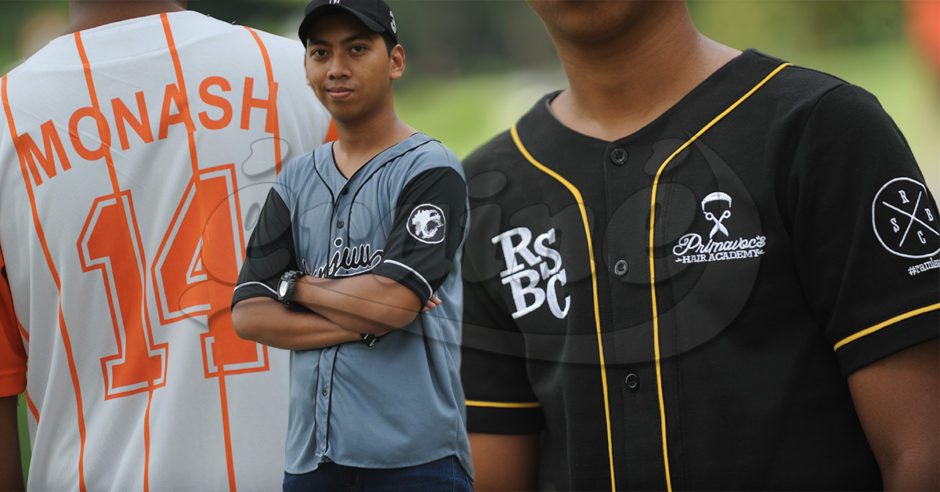 Custom-made baseball jersey