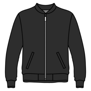 custom-made bomber jacket