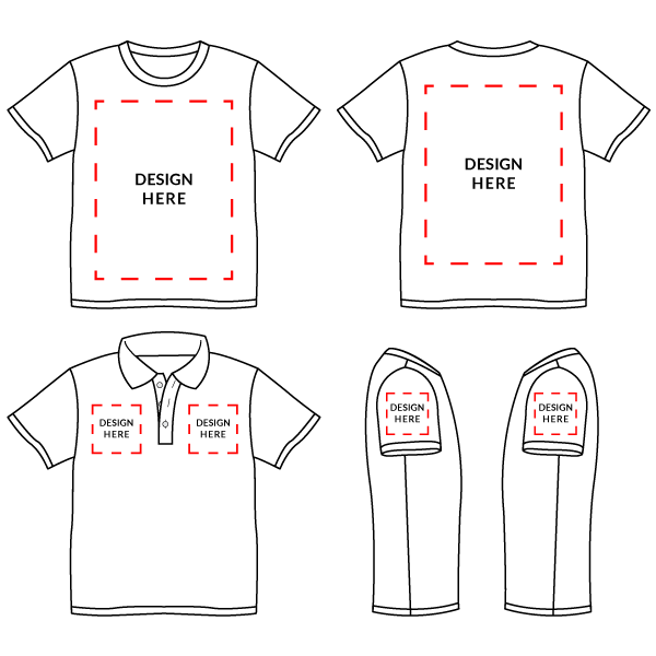 Design custom made t shirt for your team with this for Custom dress shirts app