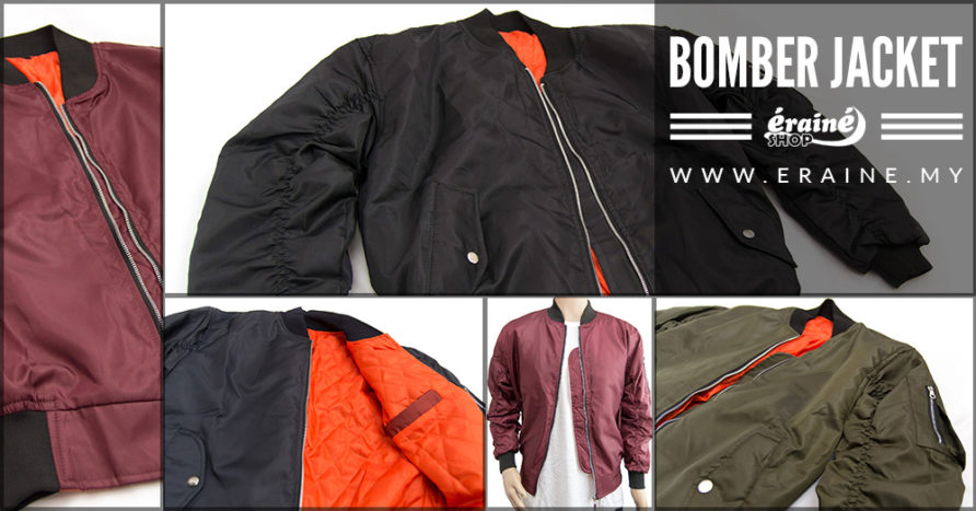 Poster bomber jacket collection